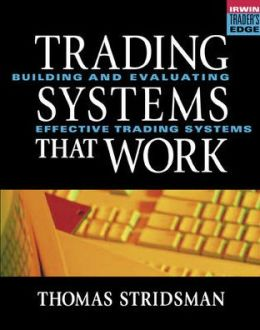[Trading eBook] Thomas Stridsman - Trading Systems That Work | Profit (Accounting) | Day Trading
